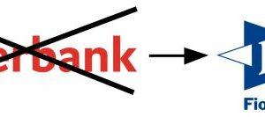 změna bankovního účtu